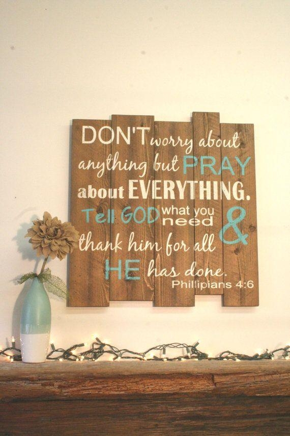 Best 25+ Inspirational Wall Art Ideas On Pinterest | Free With Wood Word Wall Art (Image 9 of 20)