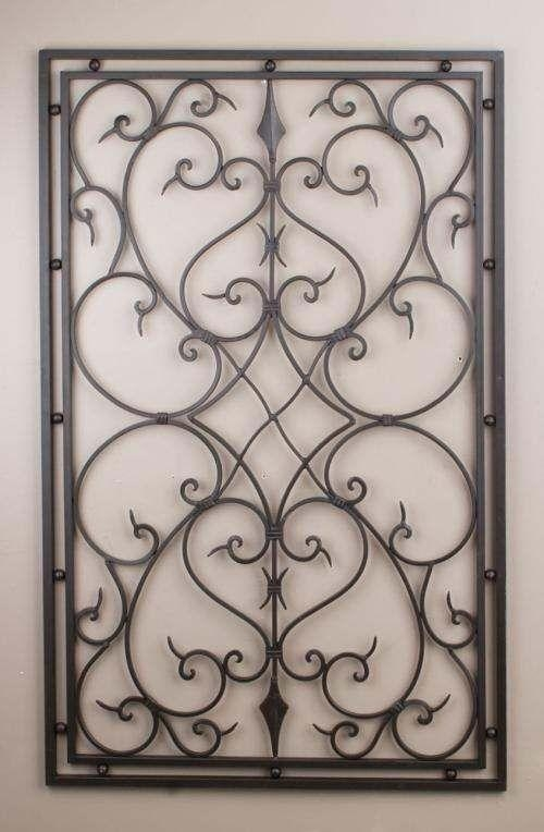Best 25+ Iron Wall Decor Ideas On Pinterest | Family Room Pertaining To Iron Gate Wall Art (Image 12 of 20)