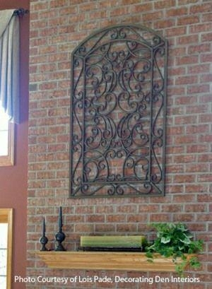 Best 25+ Iron Wall Decor Ideas On Pinterest | Family Room Pertaining To Iron Gate Wall Art (Image 11 of 20)