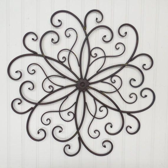 Best 25+ Iron Wall Decor Ideas On Pinterest | Family Room Pertaining To Wrought Iron Garden Wall Art (View 17 of 20)