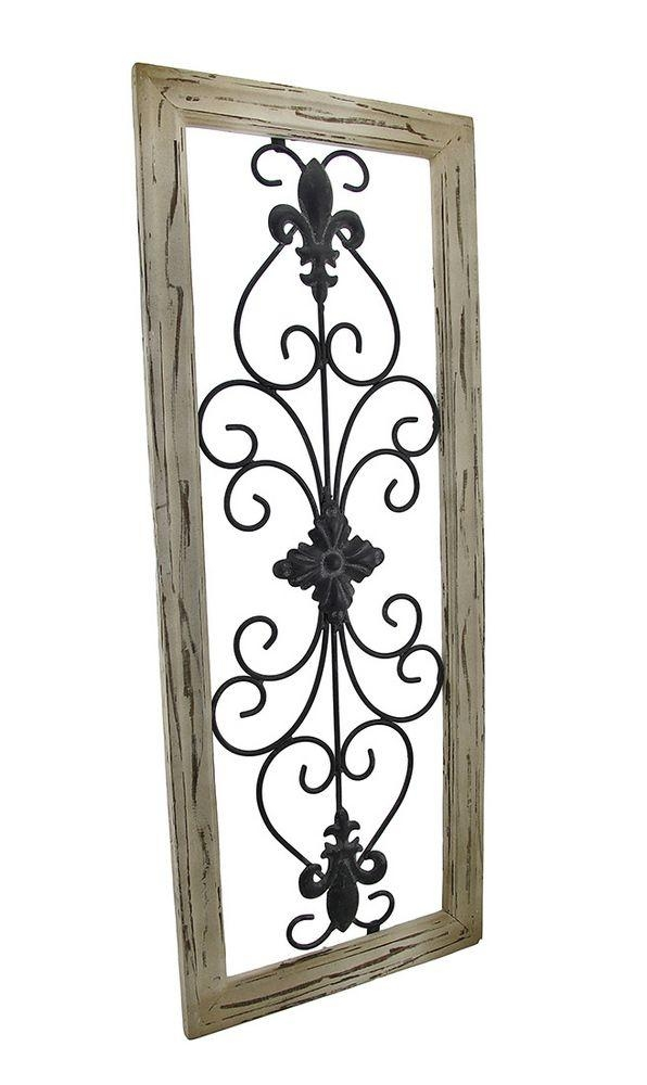 Best 25+ Iron Wall Decor Ideas On Pinterest | Family Room Within Wrought Iron Garden Wall Art (View 19 of 20)