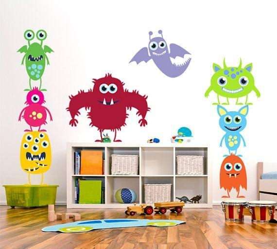 Best 25+ Kids Wall Stickers Ideas On Pinterest | Nursery Wall Pertaining To Children Wall Art (View 16 of 20)