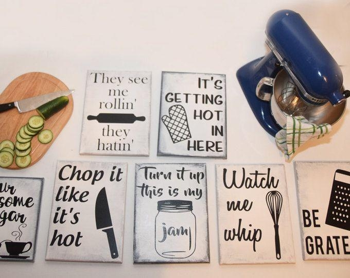 Best 25+ Kitchen Artwork Ideas On Pinterest | Funny Kitchen Signs Regarding Kitchen Wall Art Sets (View 14 of 20)