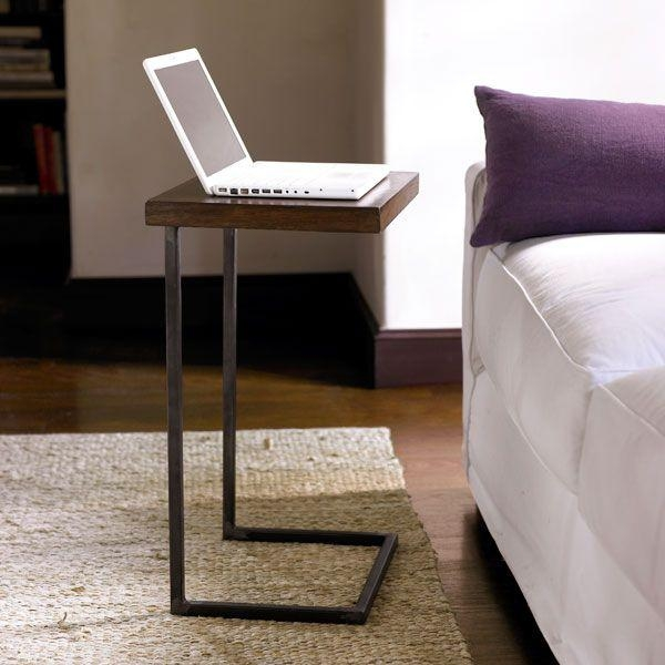 Best 25+ Laptop Table Ideas On Pinterest | Laptop Tray Table Pertaining To Computer Sofa Tables (Image 2 of 20)