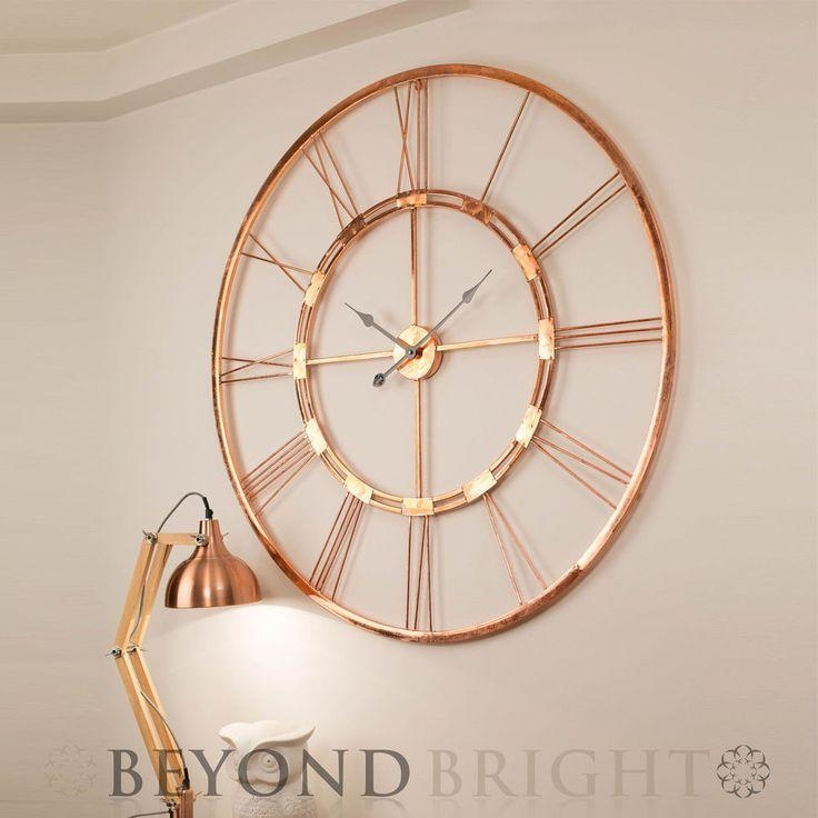 Best 25+ Large Vintage Wall Clocks Ideas On Pinterest | Wall Intended For Large Copper Wall Art (Image 8 of 20)