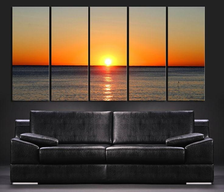 17 Best Ideas About Large Wall Art On Pinterest: 20 Collection Of Huge Wall Art Canvas