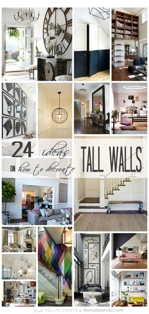 Best 25+ Large Walls Ideas On Pinterest | Decorating Large Walls Throughout Tall Wall Art Decor (Image 14 of 20)