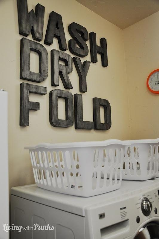 Best 25+ Laundry Room Wall Decor Ideas Only On Pinterest | Laundry Pertaining To Laundry Room Wall Art (Image 6 of 20)