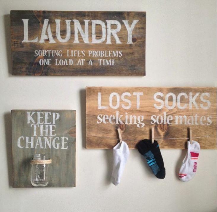 Featured Image of Laundry Room Wall Art Decors