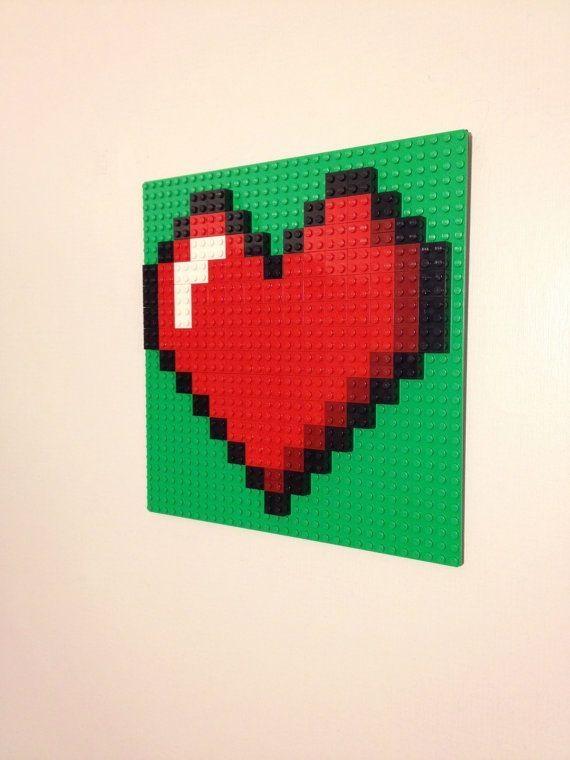 Best 25+ Lego Wall Art Ideas On Pinterest | Boys Lego Bedroom, Diy Regarding Pixel Mosaic Wall Art (Image 4 of 20)