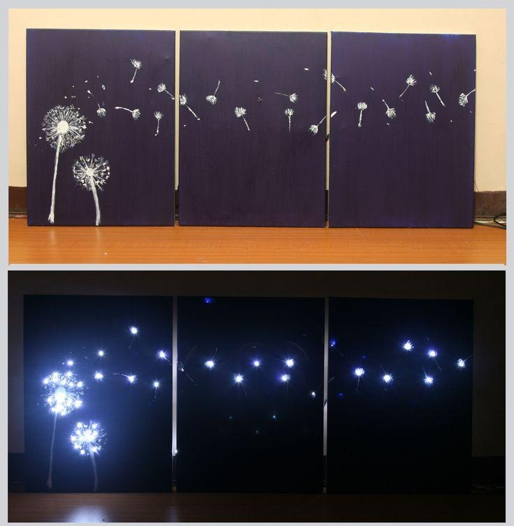 Best 25+ Light Up Canvas Ideas On Pinterest | Canvas Light Art Regarding Wall Art With Lights (Image 3 of 20)