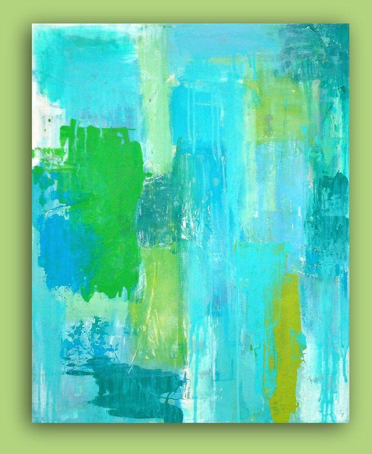 Best 25+ Lime Green Paints Ideas On Pinterest | Lime Green Throughout Blue And Green Wall Art (View 19 of 20)