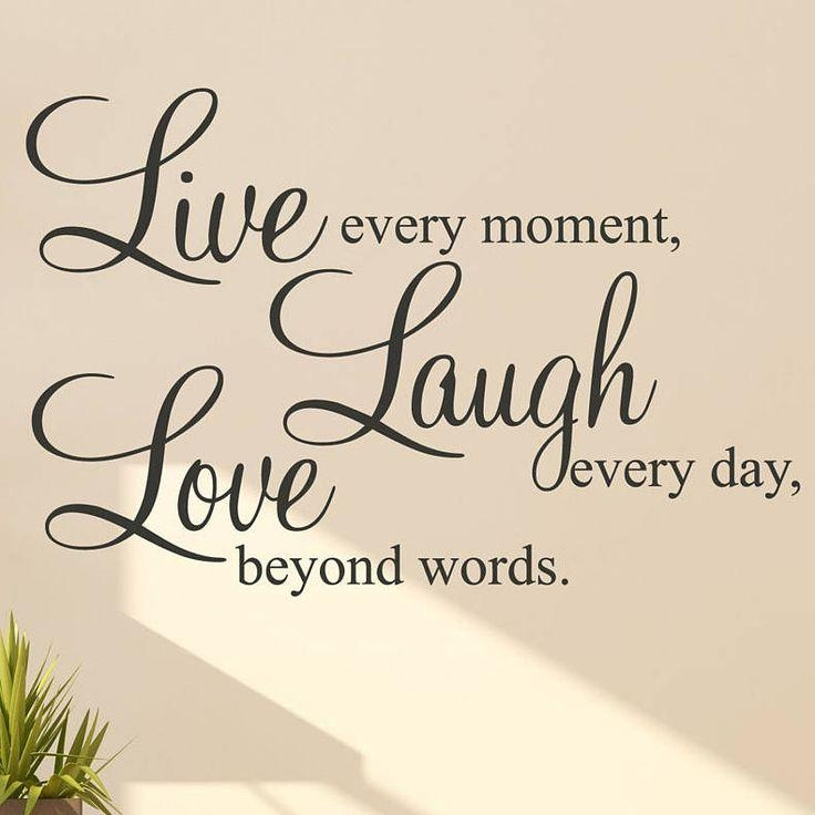 Best 25+ Live Laugh Love Ideas On Pinterest | Live Laugh Love With Regard To Live Love Laugh Metal Wall Decor (Image 5 of 20)