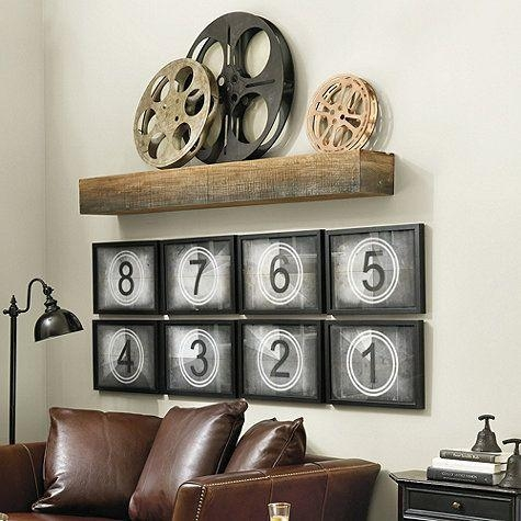 Best 25+ Media Room Decor Ideas On Pinterest | Theater Room Decor Intended For Media Room Wall Art (Image 12 of 20)