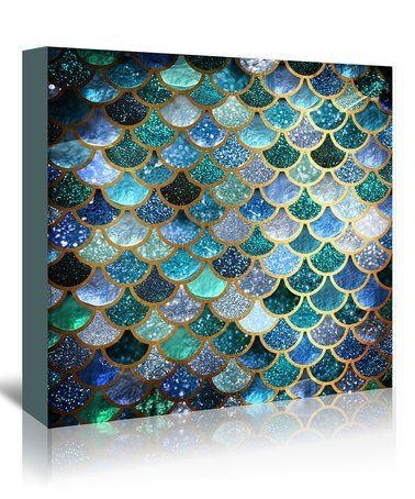 Best 25+ Mermaid Wall Art Ideas On Pinterest | Mermaid Wall Decor Throughout Blue And Green Wall Art (Image 10 of 20)