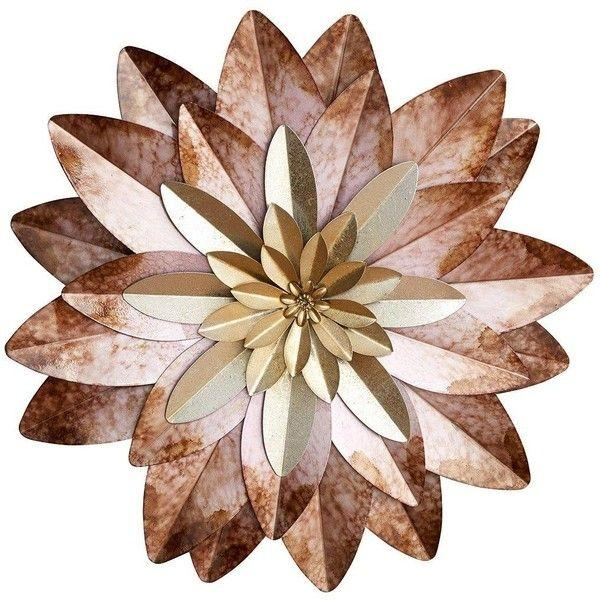 Best 25+ Metal Flower Wall Art Ideas Only On Pinterest | Metal Within Purple Flower Metal Wall Art (Image 2 of 20)