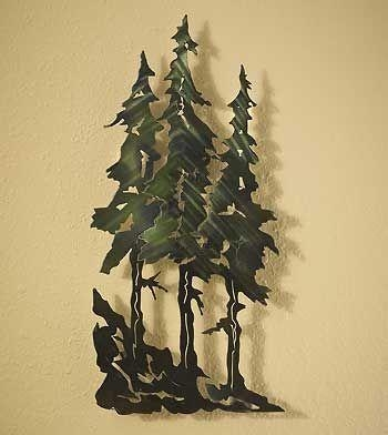 Best 25+ Metal Wall Art Ideas On Pinterest | Metal Art, Metal Wall Pertaining To Pine Tree Metal Wall Art (Image 4 of 20)