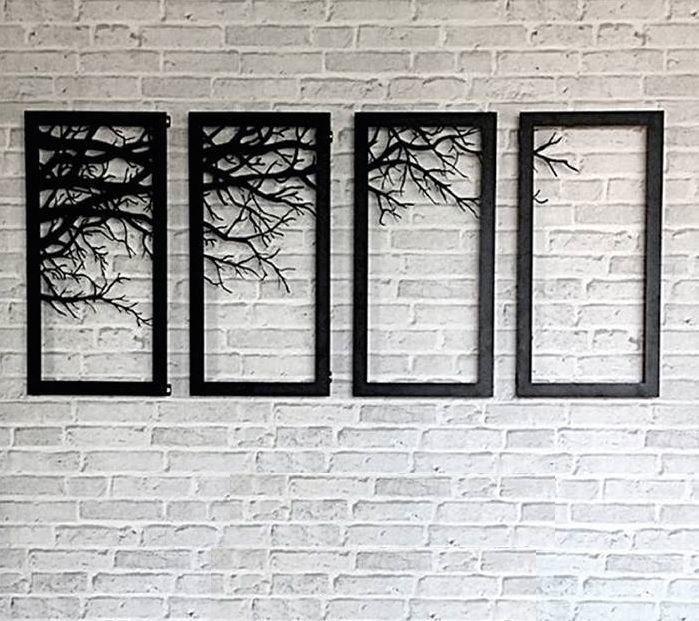 Best 25+ Metal Wall Art Ideas On Pinterest | Metal Art, Metal Wall With Regard To Metal Framed Wall Art (Image 5 of 20)