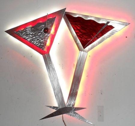 Best 25+ Metal Wall Sculpture Ideas On Pinterest | Wall Sculptures Regarding Martini Metal Wall Art (Image 3 of 20)