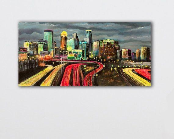 Best 25+ Minneapolis Skyline Ideas On Pinterest | Red Crayon Throughout Minneapolis Wall Art (Image 6 of 20)