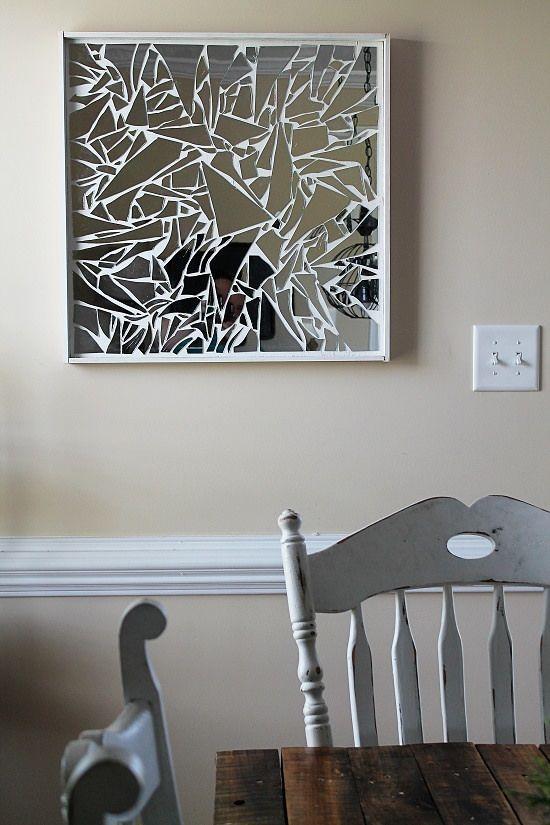 Best 25+ Mirror Wall Art Ideas On Pinterest | Cd Wall Art, Mosaic Inside Mirrors Modern Wall Art (Image 4 of 20)