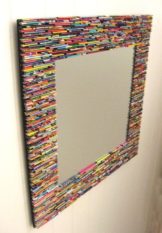 Best 25+ Mirror Wall Art Ideas On Pinterest | Cd Wall Art, Mosaic Regarding Mirrored Frame Wall Art (Image 6 of 20)
