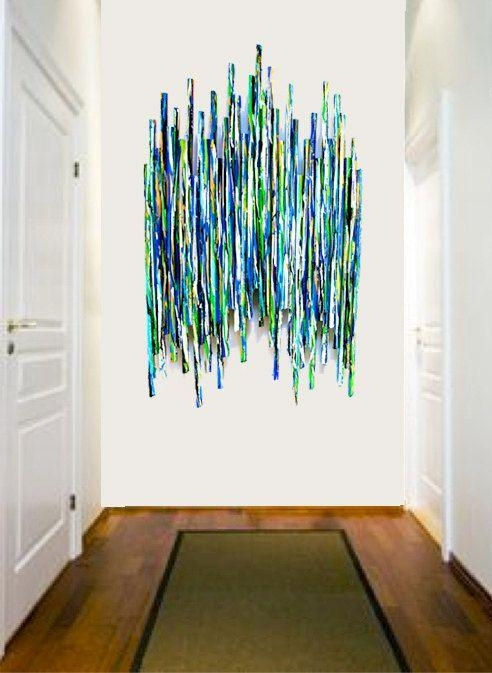 Best 25+ Modern Wall Sculptures Ideas On Pinterest | Wall With Regard To Commercial Wall Art (Image 3 of 20)