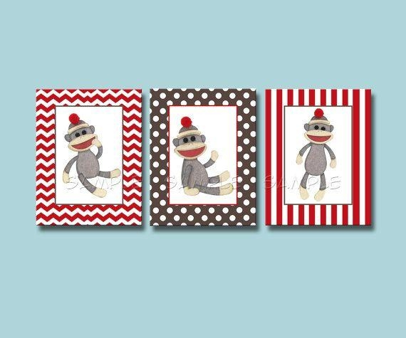 Best 25+ Monkey Nursery Ideas On Pinterest | Baby Curtains, Diy Intended For Sock Monkey Wall Art (Image 8 of 20)
