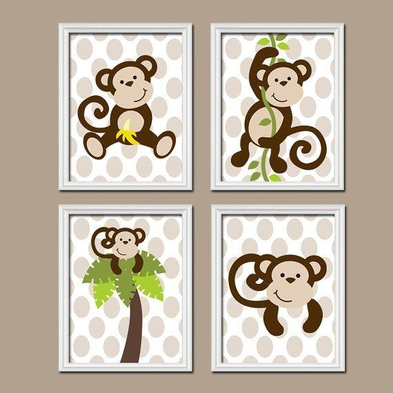 Best 25+ Monkey Nursery Ideas On Pinterest | Baby Curtains, Diy Within Sock Monkey Wall Art (Image 9 of 20)