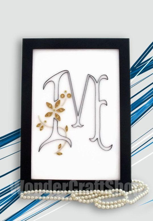 Best 25+ Monogram Wall Hangings Ideas On Pinterest | Monogram Wall Intended For Framed Monogram Wall Art (Image 9 of 20)