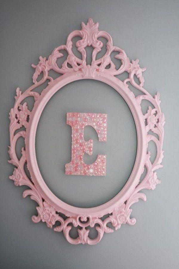 Best 25+ Monogram Wall Ideas On Pinterest | Monogram Wall Pertaining To Framed Monogram Wall Art (Image 10 of 20)