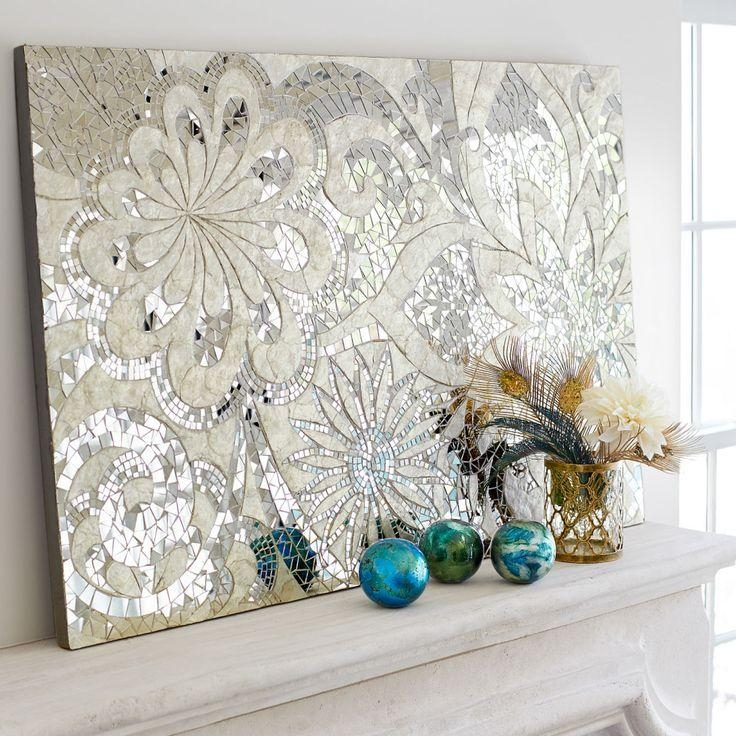 Best 25+ Mosaic Wall Art Ideas Only On Pinterest | Mosaic Tile Art Throughout Capiz Shell Wall Art (View 11 of 20)