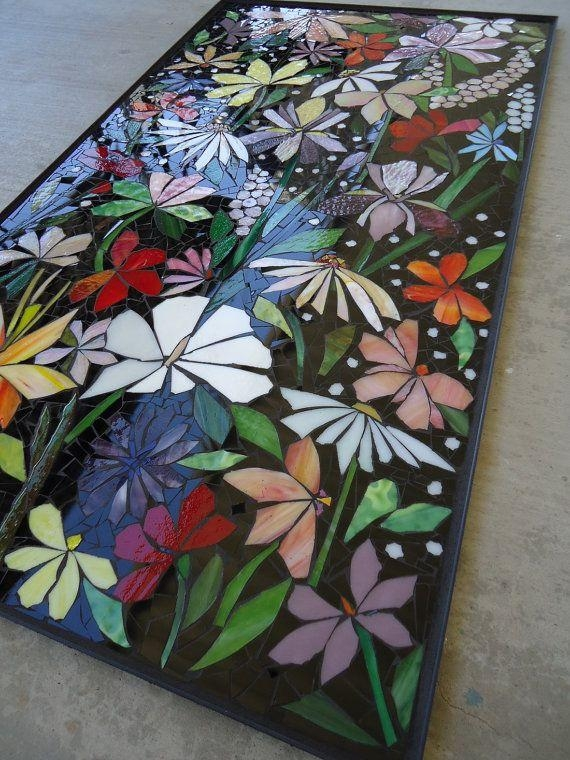 Best 25+ Mosaic Wall Art Ideas Only On Pinterest | Mosaic Tile Art With Fused Glass Wall Art Hanging (Image 14 of 20)