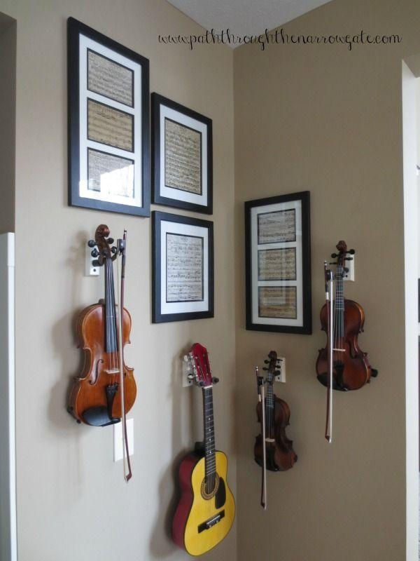 Best 25+ Music Wall Art Ideas Only On Pinterest | Music Wall Decor Pertaining To Musical Instrument Wall Art (View 17 of 20)
