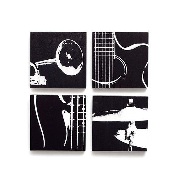 Best 25+ Music Wall Art Ideas Only On Pinterest | Music Wall Decor Within Musical Instrument Wall Art (View 10 of 20)