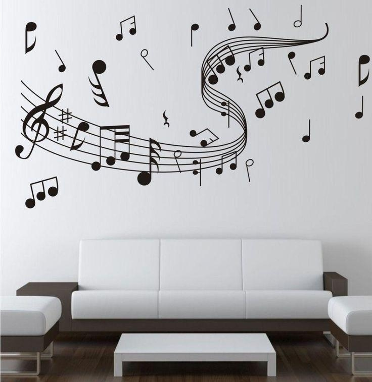 Best 25+ Music Wall Decor Ideas On Pinterest | Music Room Intended For Music Note Wall Art Decor (View 5 of 20)