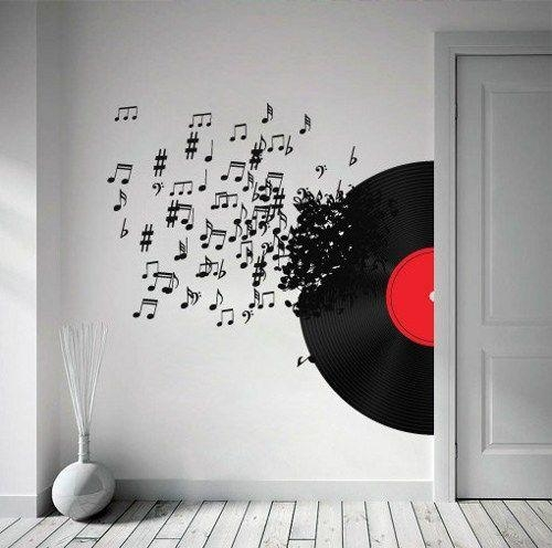 Best 25+ Music Wall Decor Ideas On Pinterest | Music Room With Regard To Music Themed Wall Art (Image 15 of 20)