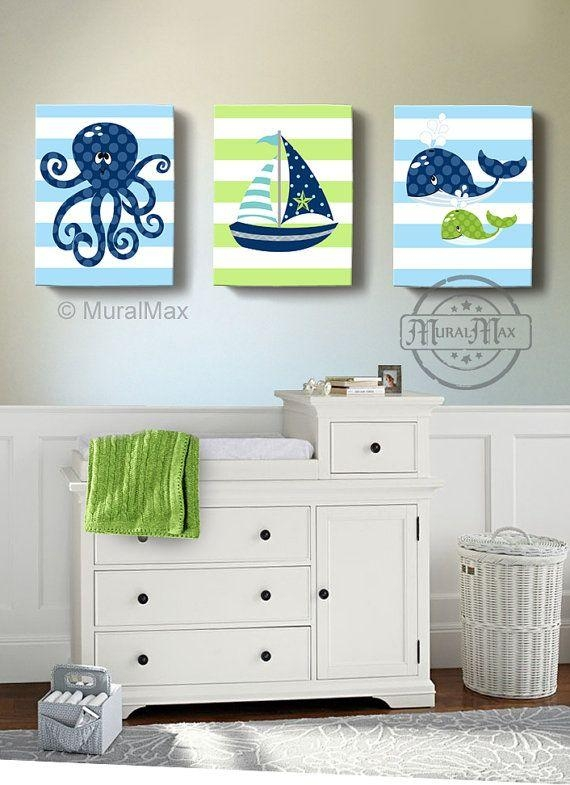 Best 25+ Nautical Canvas Art Ideas On Pinterest | Nautical Canvas In Childrens Wall Art Canvas (Image 7 of 20)