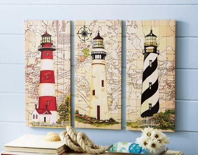 Best 25+ Nautical Canvas Art Ideas On Pinterest | Nautical Canvas Throughout Nautical Canvas Wall Art (Image 7 of 20)