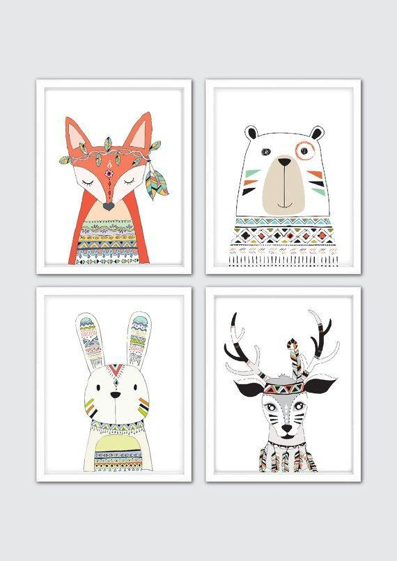 Best 25+ Nursery Art Ideas On Pinterest | Animal Nursery, Baby Within Etsy Childrens Wall Art (View 13 of 20)