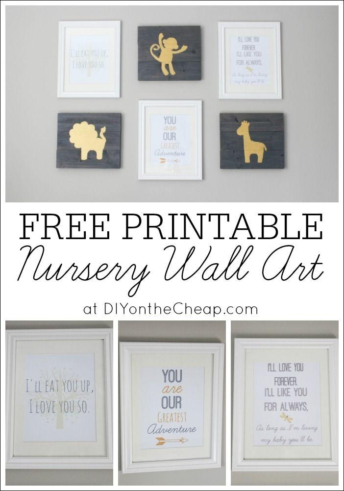 Best 25+ Nursery Wall Art Ideas Only On Pinterest | Baby Nursery For Baby Wall Art (Image 13 of 20)