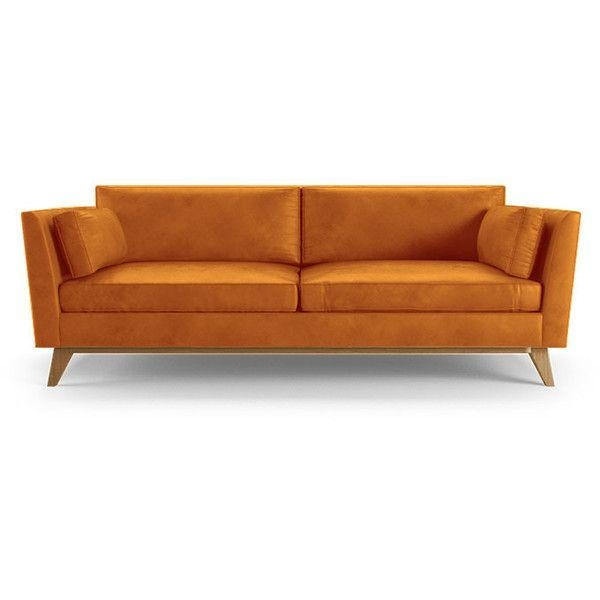 Best 25+ Orange Leather Sofas Ideas Only On Pinterest | Orange Throughout Burnt Orange Leather Sofas (View 11 of 20)