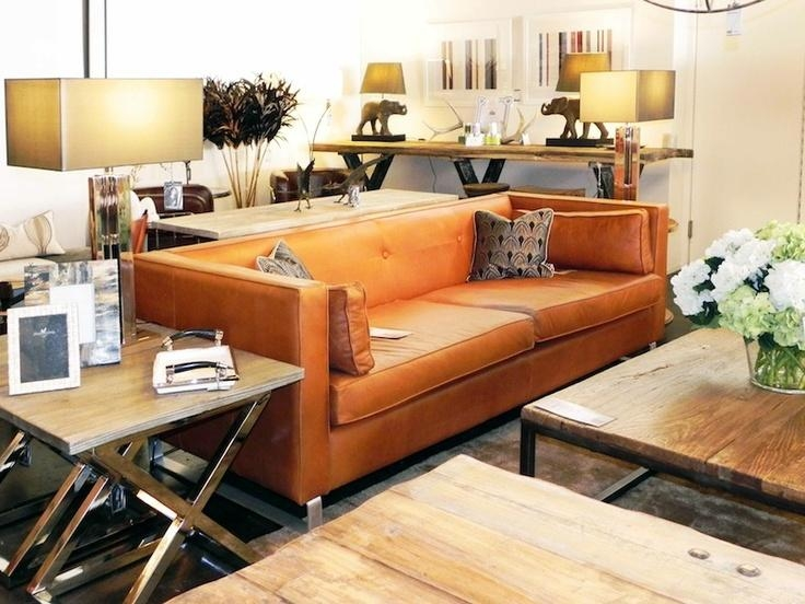 Best 25+ Orange Leather Sofas Ideas Only On Pinterest | Orange Within Burnt Orange Leather Sofas (View 2 of 20)
