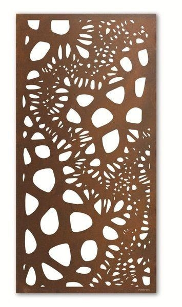 Best 25+ Outdoor Metal Wall Art Ideas On Pinterest | Metal Screen Intended For Outdoor Wall Sculpture Art (Image 6 of 20)