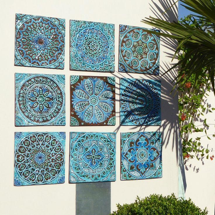 Best 25+ Outdoor Wall Art Ideas On Pinterest | Outdoor Art, Garden In Moroccan Metal Wall Art (Image 8 of 20)