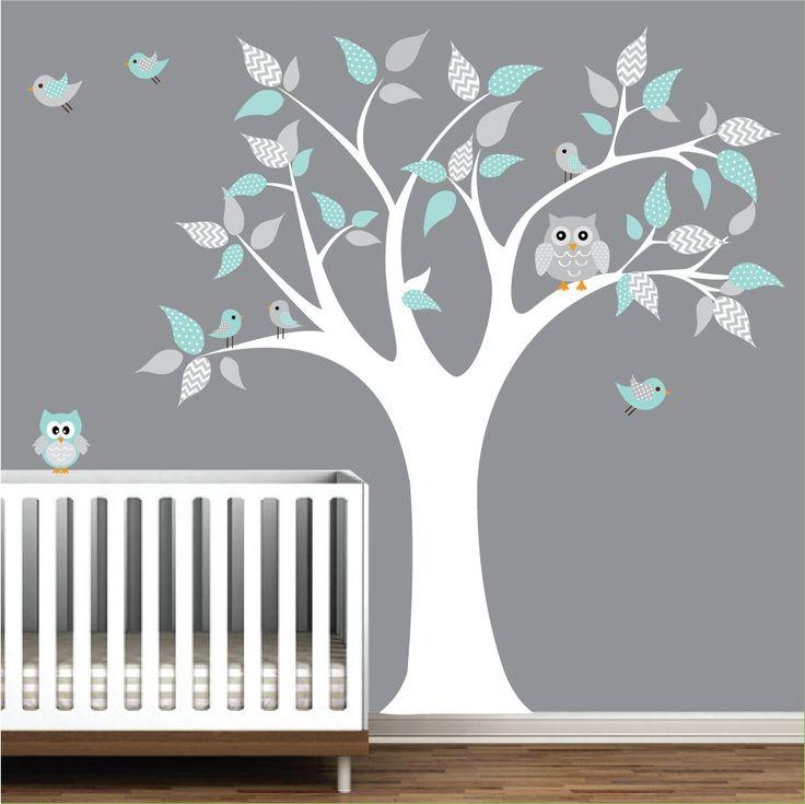 Best 25+ Owl Wall Decals Ideas On Pinterest | Girl Owl Nursery Inside Etsy Childrens Wall Art (Image 14 of 20)