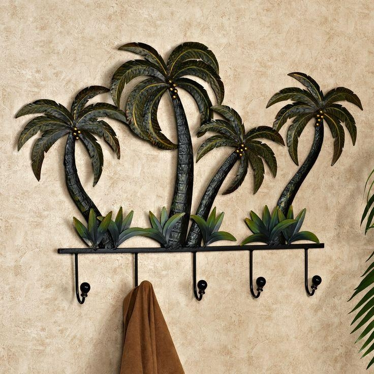 Best 25+ Palm Tree Bathroom Ideas On Pinterest | Palm Tree Crafts Intended For Palm Tree Metal Art (Image 10 of 20)
