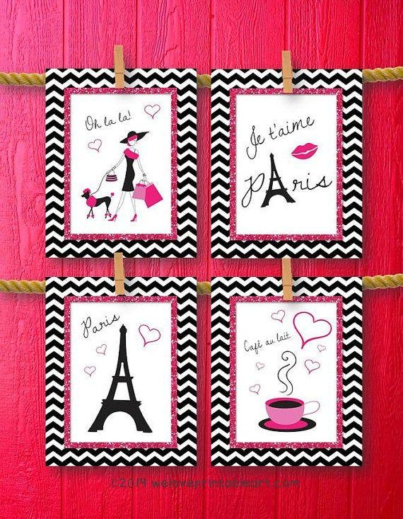 Best 25+ Paris Wall Art Ideas On Pinterest | Paris Bedroom Decor With Paris Theme Nursery Wall Art (View 3 of 20)