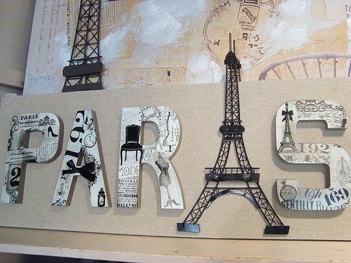 Featured Image of Paris Theme Wall Art