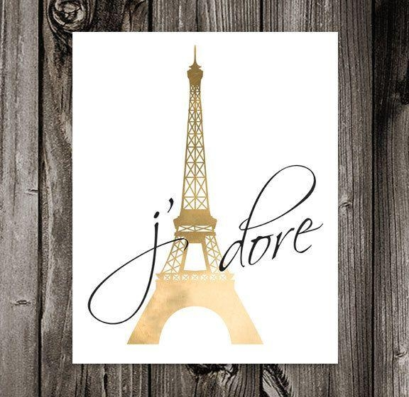 Best 25+ Paris Wall Art Ideas On Pinterest | Paris Bedroom Decor Within Eiffel Tower Wall Hanging Art (Image 1 of 20)